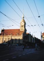 Abendsonne Heiliggeistkirche, Bern