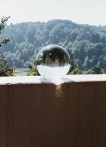 Glaskugel am Wohlensee bei Bern