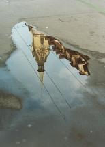 Wasserspiegel Heiliggeistkirche, Bern